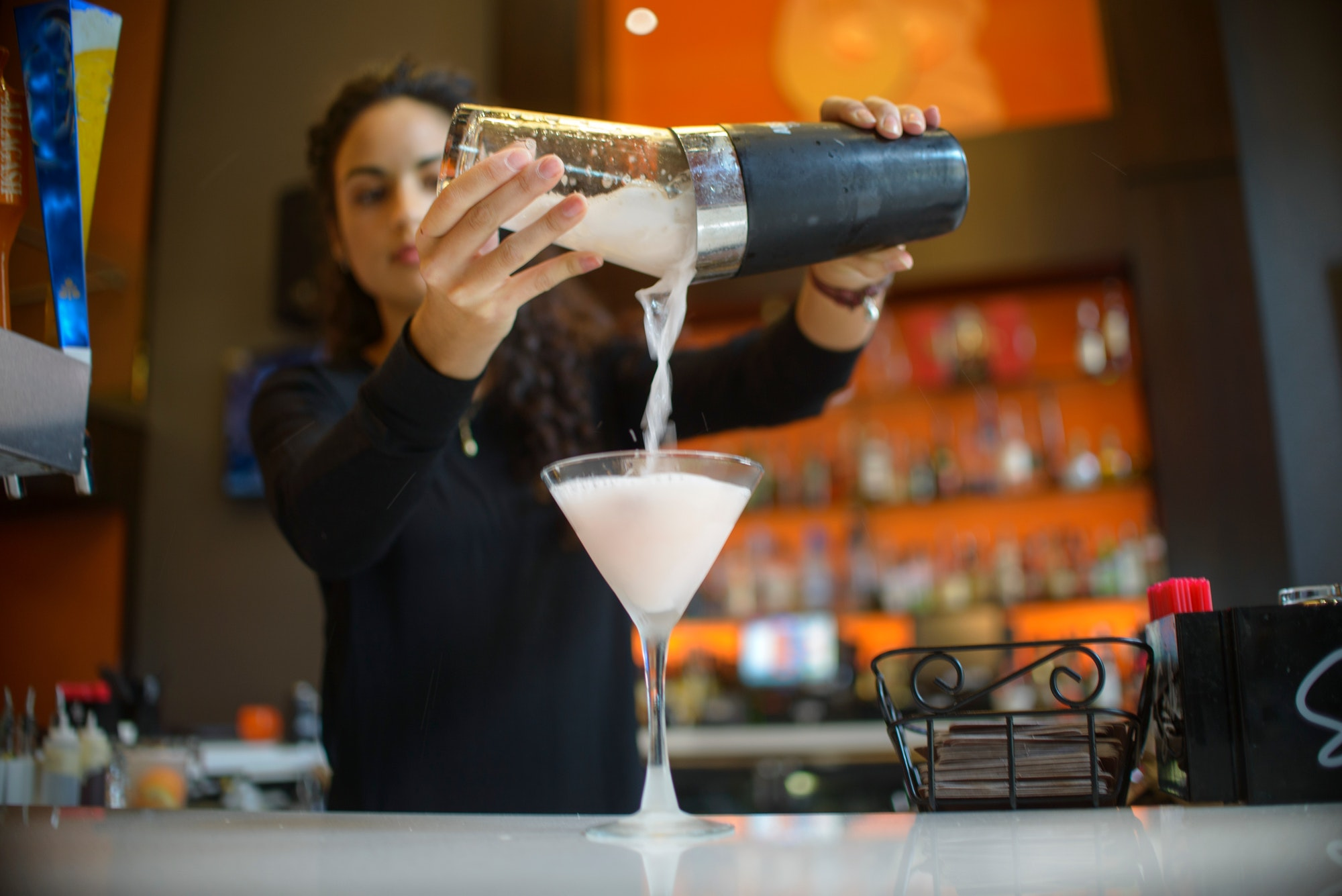 Mixing a perfect cocktail